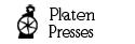 Antique Platen Press - Howard Iron Works