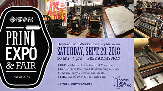 Print Expo & Fair 2018 - presented by Howard Iron Works Printing Museum & Restoration